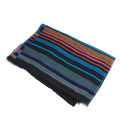 colorful striped scarf