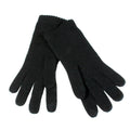 texting gloves cashmere black