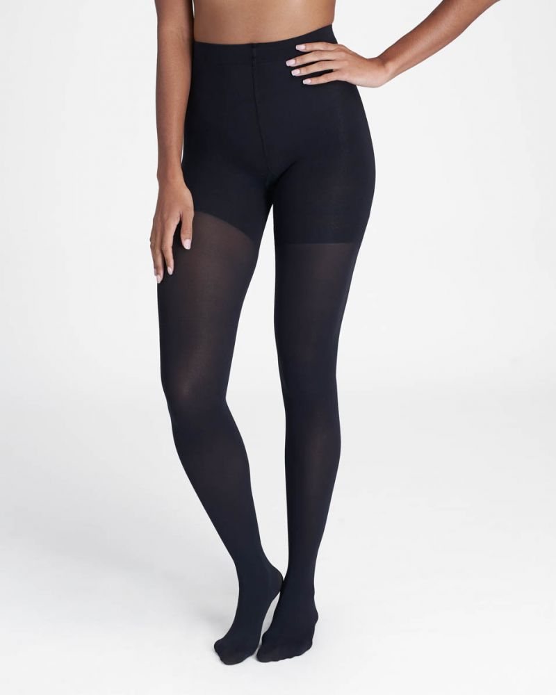 Luxe Leg/Tight End Tights in Black