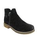 waterproof suede desert booties womens