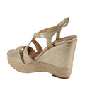 pretty metallic platform summer