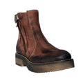 distressed platform womens boots manas