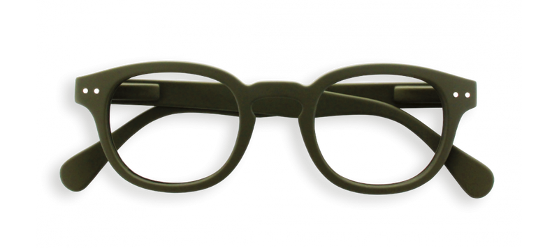 #C Shape Readers in Khaki