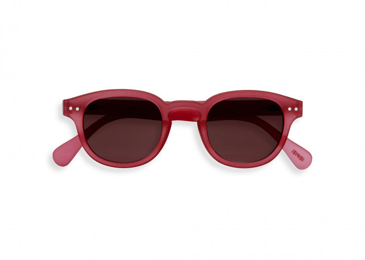 #C Shape Sunglasses in Sunset Pink