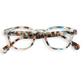 #C Shape Readers in Blue Tortoise