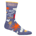 Carpe Diem Men's Socks
