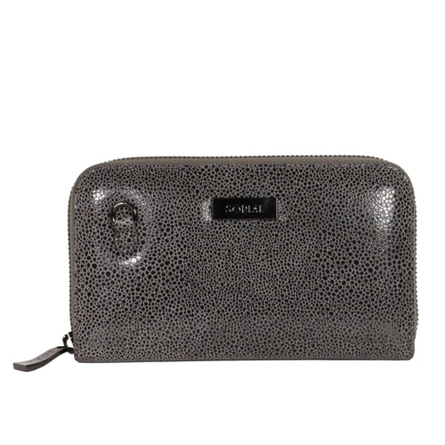 Oceana Chain Wallet in Slate