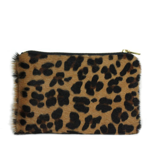 Hyde Mini Clutch in Cheetah