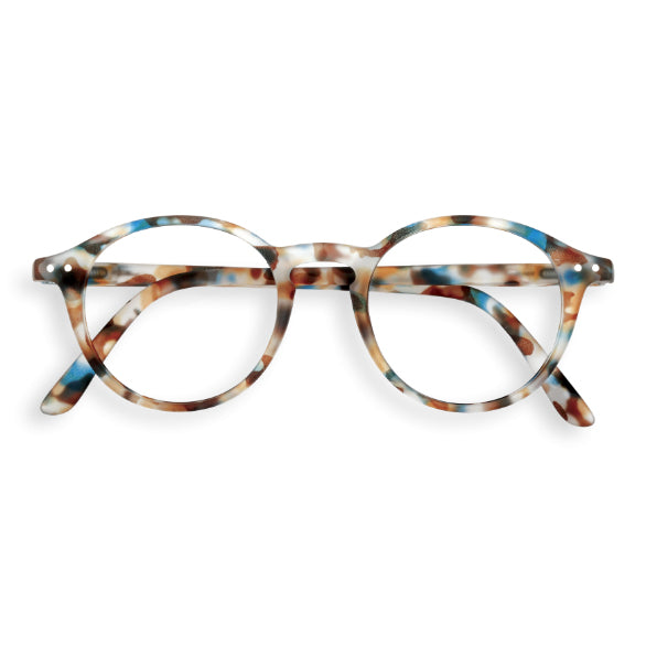 #D Shape Readers in Blue Tortoise