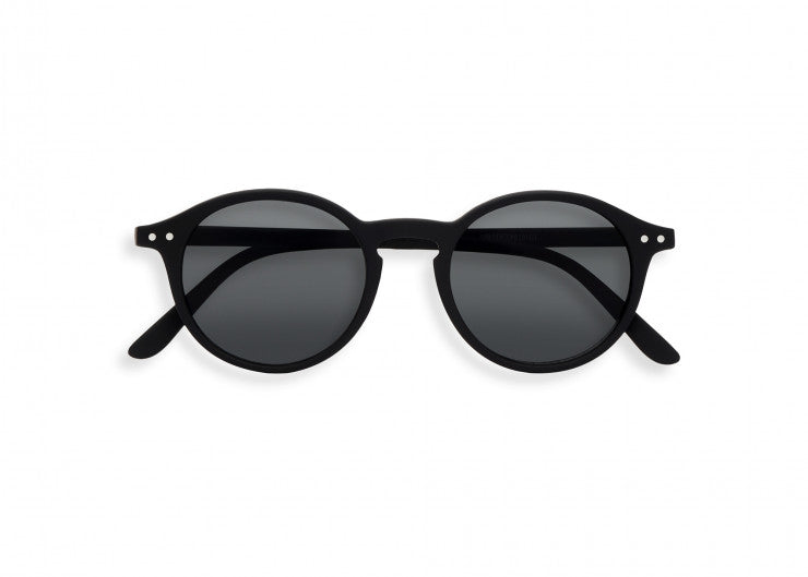 #D Shape Sunglasses in Black