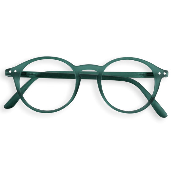 #D Shape Readers in Green Crystal