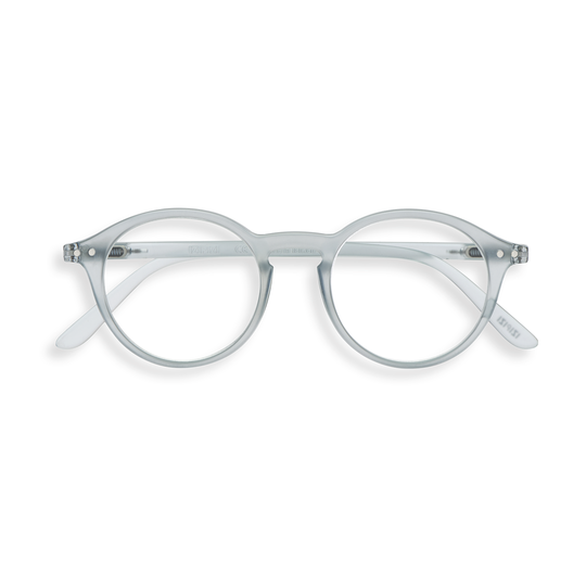 #D Shape Readers in Frosted Blue