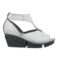 Island in Grey Ice wedge sandals