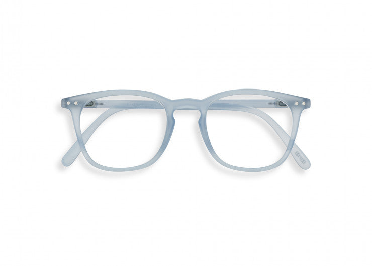 #E Shape Readers in Aery Blue