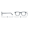 #E Shape Readers in Grey izipizi