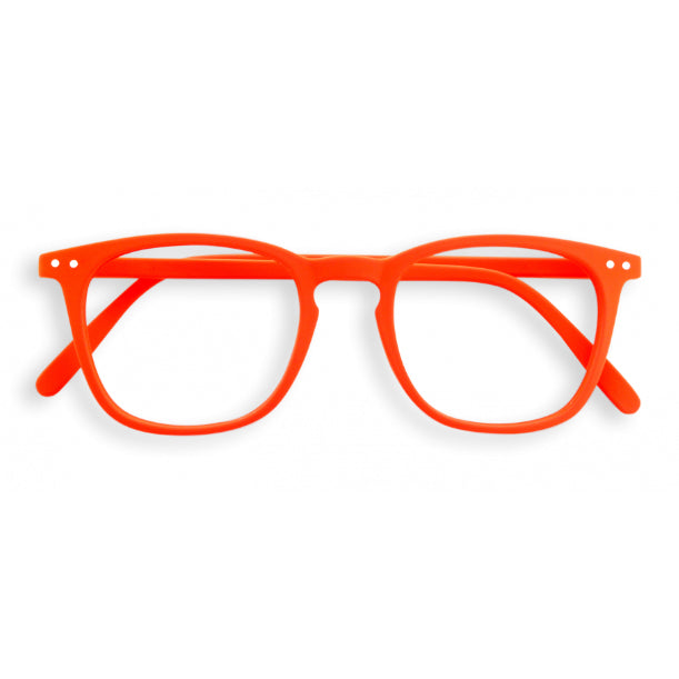 #E Shape Readers in Orange Pumpkin