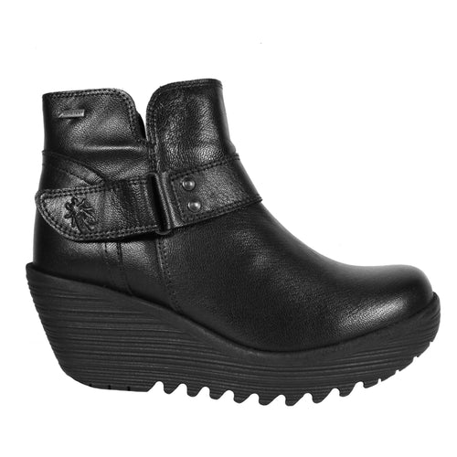 Yock in Black wedge