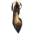 pointed flats french sole adrienne