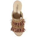 fringe wedge cork leather robbi cordani