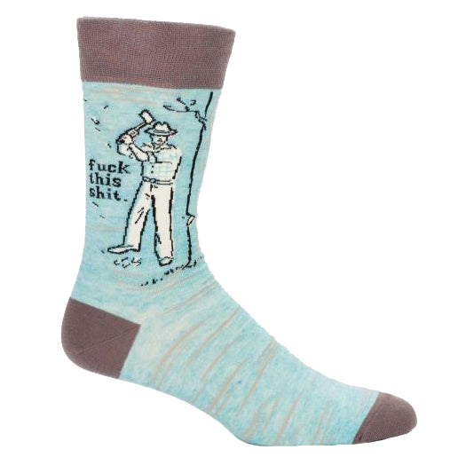 Fuck This Shit Men's Socks
