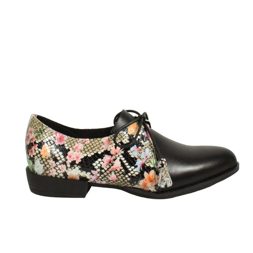 Rosey in Floral/Black