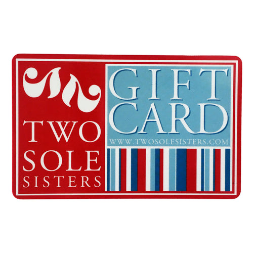 two sole sisters gift card online in store shopping holiday
