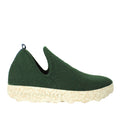 Asportuguesas city green woolen felt slippers