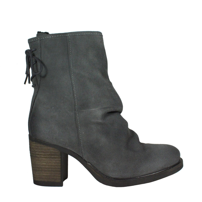 slouchy suede booties waterproof