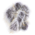 pull through fur scarf