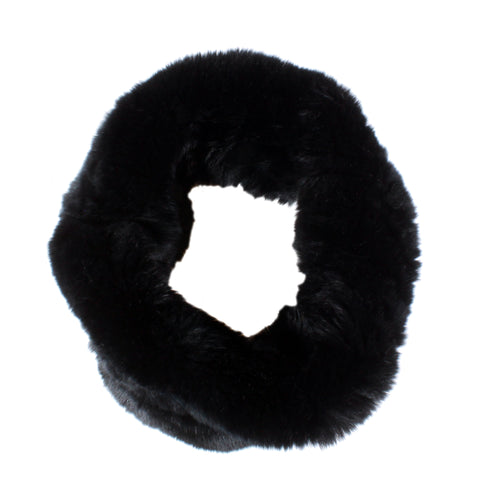 real fur headband