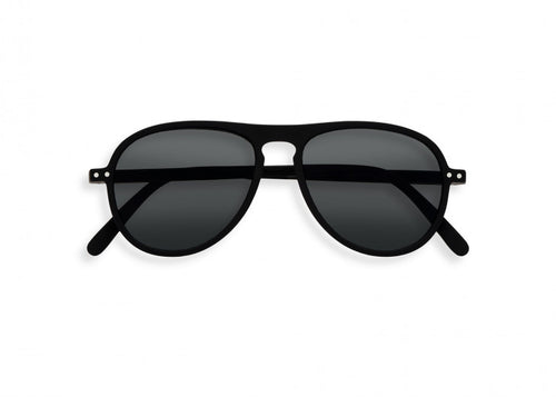 #I Shape Sunglasses in Black