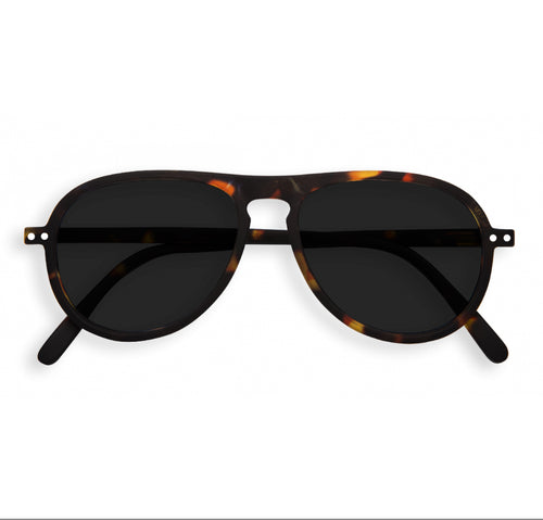 #I Shape Sunglasses in Tortoise