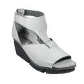 trippen comfort white wedge