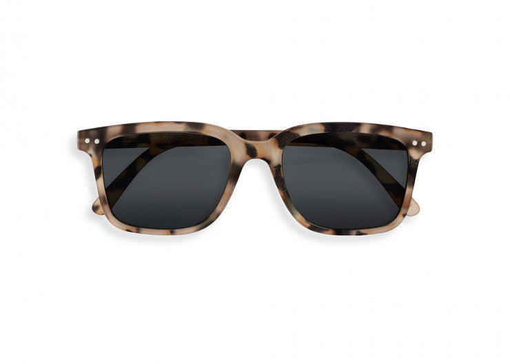 #L Shape Sunglasses in Light Tortoise