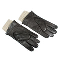 leather knit gloves mg12