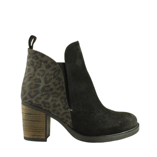 Belfield in Black/Grey Leopard