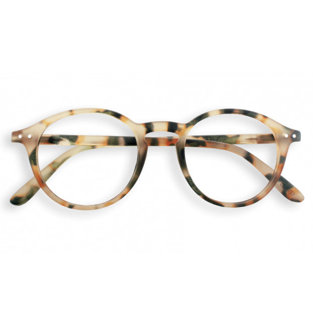 #D Shape Readers in Light Tortoise