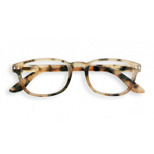#B Shape Readers in Light Tortoise