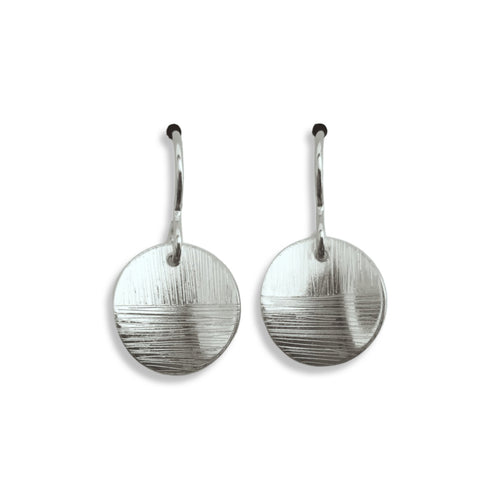 Linear Earrings Short in Silver