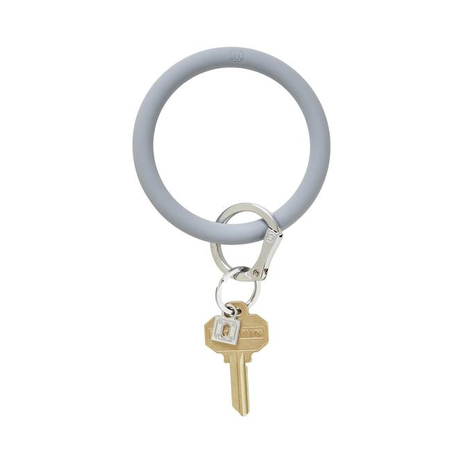 Big O Silicone Key Ring in London Fog