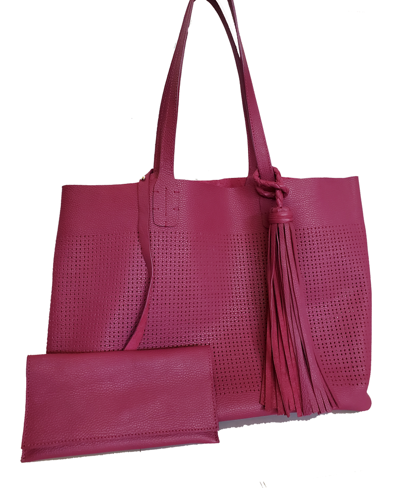 Medium Thompson Tote in Magenta