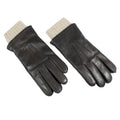 brown leather mens gloves