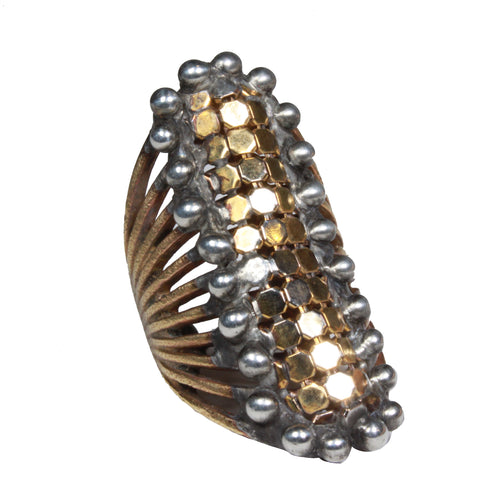 wide mesh ring