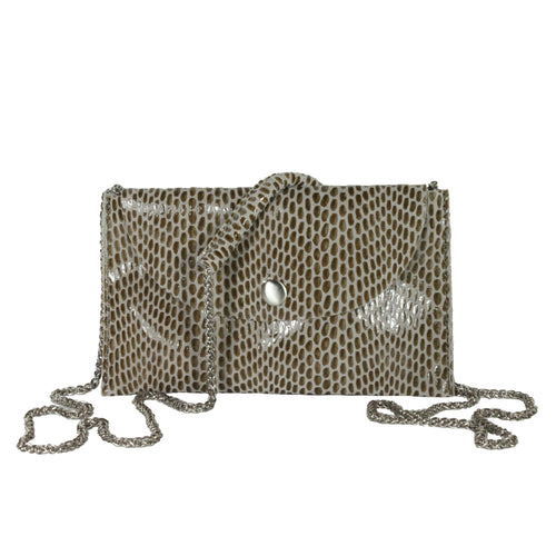 Rubina Micro Crossbody in Grey