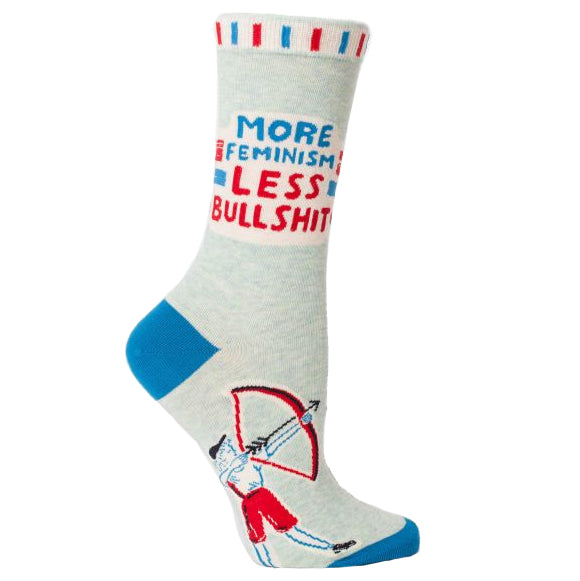 More Feminism Less Bullshit Socks