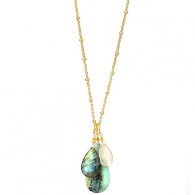 N2012-G Necklace in Multi