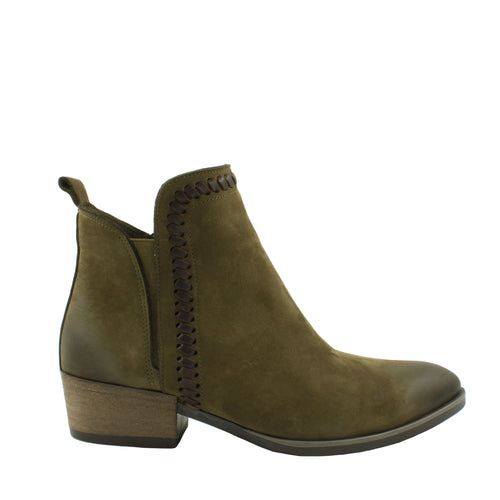 Lodi in Army Green Nubuck