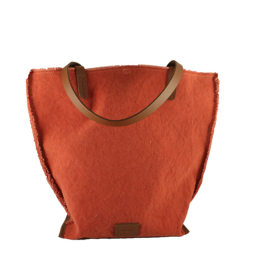 Hana Tote Canvas in Paprika
