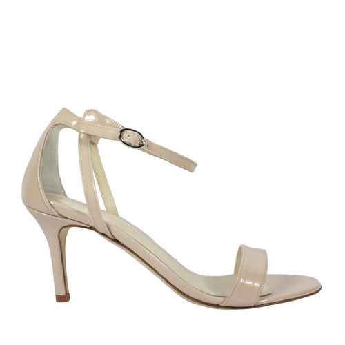 Gabi in Blush Patent butter stilleto