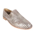 pretty metallic flats womens shoes